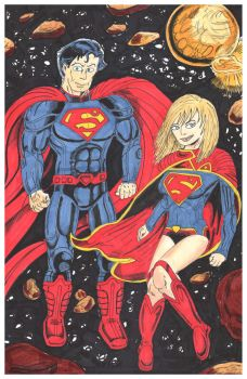 The Kryptonians New Look by C4L