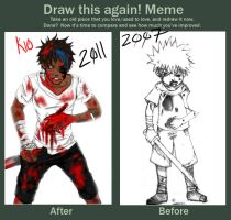 Draw this again meme-Kio by ViAnjel0s