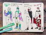 Laura's sketches : costume2 by Remietc