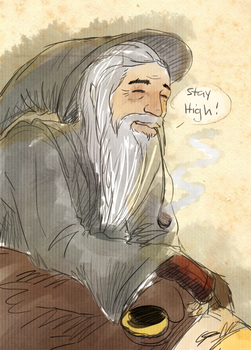 Gandalf by KiertoVoltinPoika