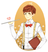 Waiter Baek by misunderstoodpotato