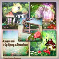 Preview Spring In Dreamforest by Creativescrapmom