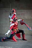 Shinkenger to the rescue! - III by SilviaArts