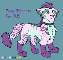 Snow Tiganess for TUS by darlimondoll