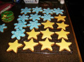 Christmas cookies by Nimhel