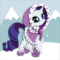 Commission:  Hearth's Warming Eve Rarity Mock-up by The-Paper-Pony