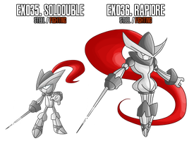 Fakemon: EX35 - EX36 by MTC-Studio