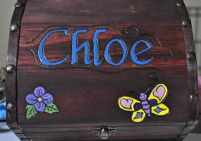 Chloe's Tinkerbell Jewelry Box - Outer Pic Update by disturbeddragon