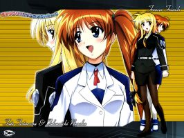 Nanoha - Forever Friends by Kaza-SOU