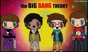 The Big Bang Theory by Marcewentzurie