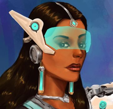 Symmetra by Shafaqskull