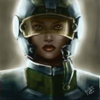 Female trooper by gMaleen