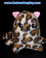Leopard Spotted Nekopod Plush by The-Cute-Storm