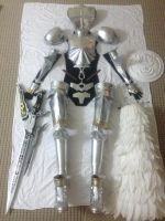 Lightning Knight of Etro Cosplay WIP by Fantalusy