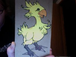 Lil' chocobo by BLacKIe-dARkcHIld