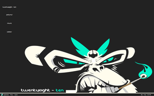 Teal n White by Twentyeight-Ten