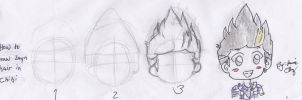 how to draw zayn hair in chibi (tutorial) by jaimie07