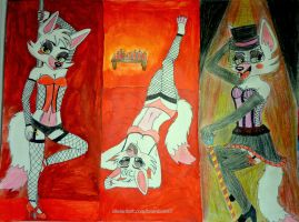 Mangle Pin-ups by brainbow97