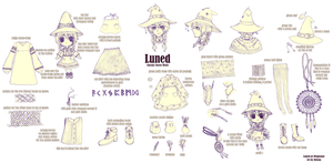 commission -- Luned reference sheet by onisuu
