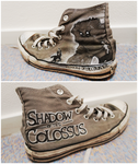 Shadow of the Colossus shoes! by Cyarin