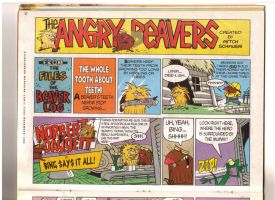 Angry Beavers Comic Part 1 by Axel16