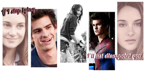 Peter Parker and new MJ (shailene woodley) by DartsOFFPleasure