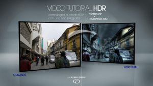 HDR tutorial by rodrigozenteno