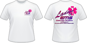 Women of EMS Calendar T-Shirt by viperaviator