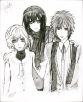 vampire knight sketch 1 by vkxmaimai