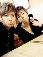 bBomb and UKwon by ShiisuKurayami