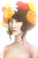 SNSD Yoona Concept Photo - The Boys: Thumbelina by Moustachi