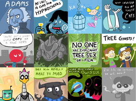 Wedrawcomics Collection 3 by Blade-zulah