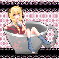 Teacup by shirochii