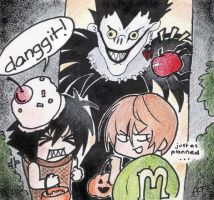 Contest Entry- Ryuk's Treats by alice-top