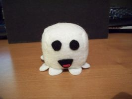 Ghost Cube Plushie by JeffSproul