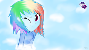 Equestria Girls - Rainbow Dash (1920x1080) by TheRageBoy