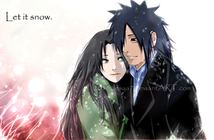 Madara x Haruko (myOC) - let it snow by Lesya7