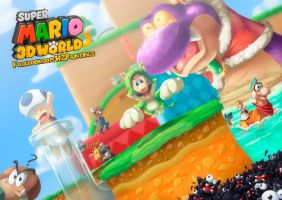 A World in 3D by Hugo-H2P