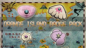 Orange Islands Badges by RamiroMaldini