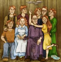 The Weasley Family, Take Two by VanishingShmink