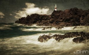 Teno Lighthouse by nahojsennah