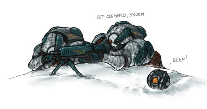 Grineer Snow Troopers by Panzermeido