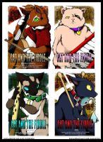 CatAndTheFiddle Rock Posters by o-kemono