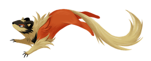 Little Dragon Weasel by ThatWildMary
