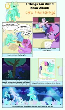 5 Things You Didn't Know About: Lyra Heartstrings by Rated-R-PonyStar