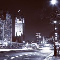 The Houses of Parliament by sican
