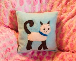 Kitty Pillow II by someweirdcrab