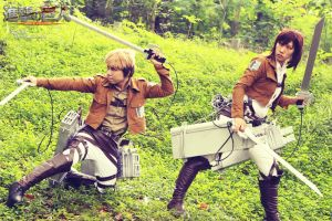 SNK cosplay - The Team by darknaito