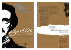 Edgar Allan Poe by ShouriMajo