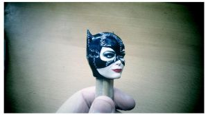 Catwoman - paint job 2 by DarrenCarnall